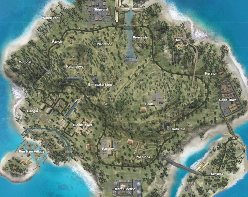 Bermuda World Map