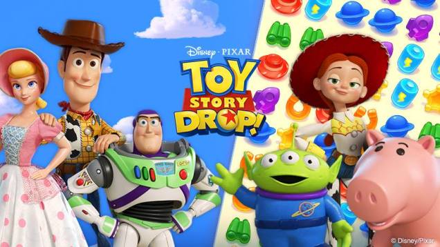 Gry na Androida - Toy Story Drop!