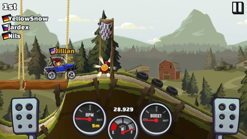 Hill Climb Racing 2 - gra bez internetu