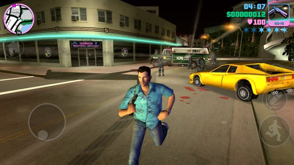 Grand Theft Auto - Gry z PC na Androida