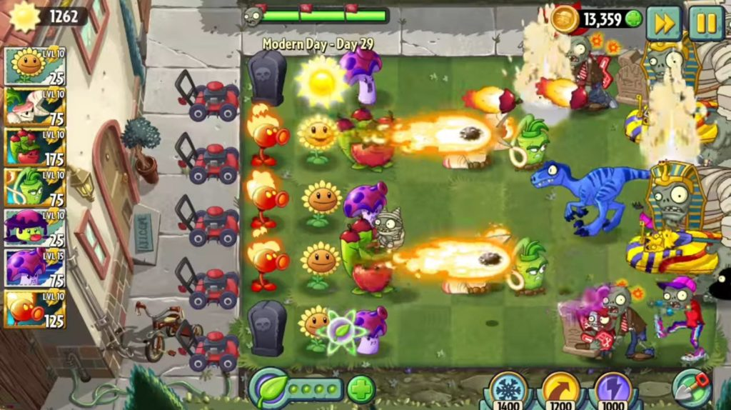 Plants vs Zombies 2 - gra offline (Android)
