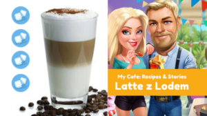 Latte z Lodem (Iced Latte) - My Cafe