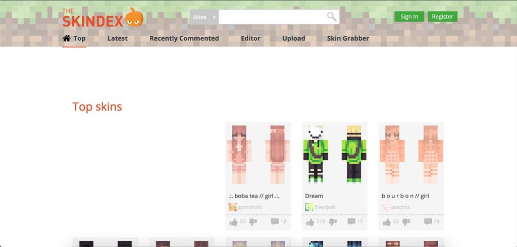 MinecraftSkins.com - skiny do mc