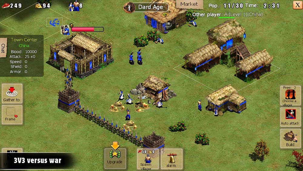 War of Empire Conquest - gry strategiczne android